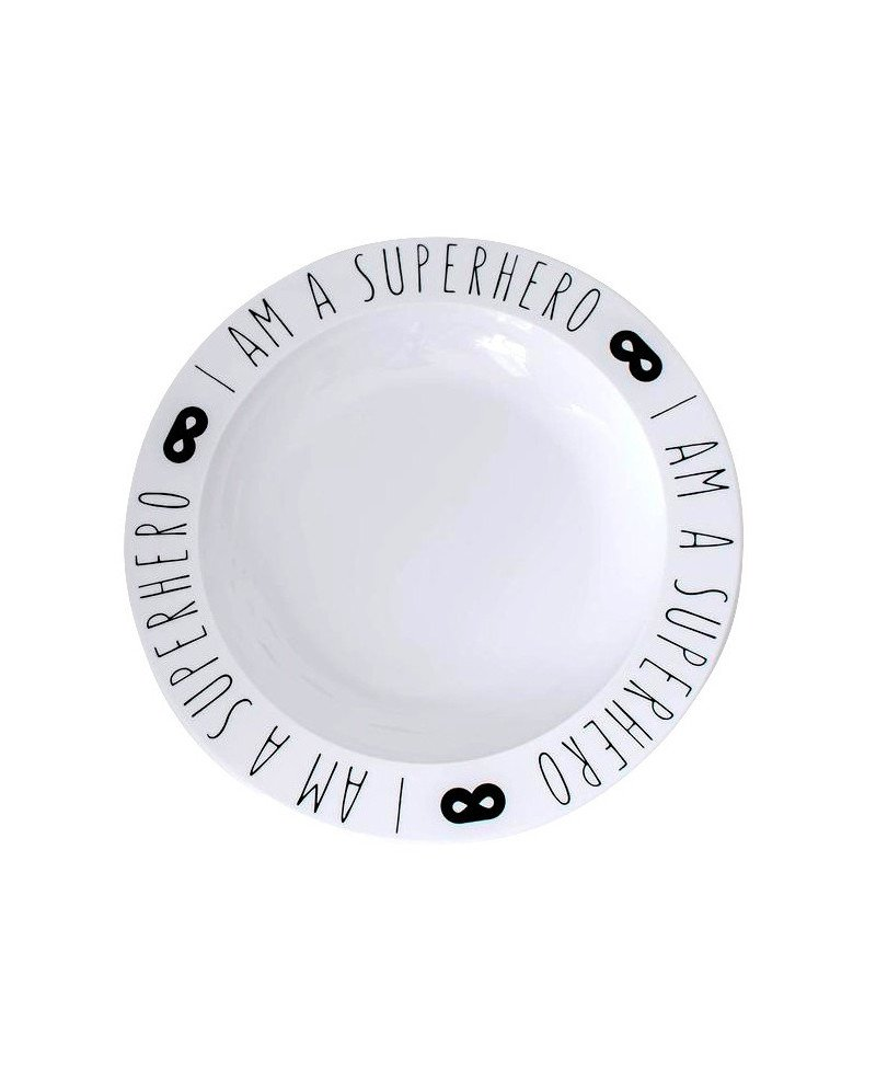 Bord \'I am a superhero\'