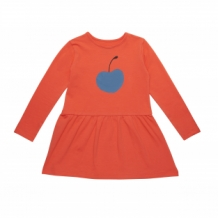 ARNA dress with blue cherry
