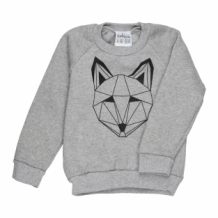 Just Call Me Fox Sweater Grey