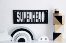 Superhero Sign