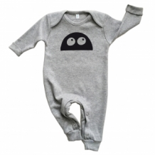 MONSTER playsuit grey