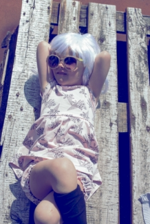 ELMA-dress with flowers