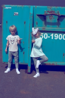 KRISTINN t-shirt with fox