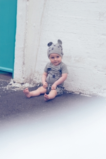 SKORRI shorts with koala